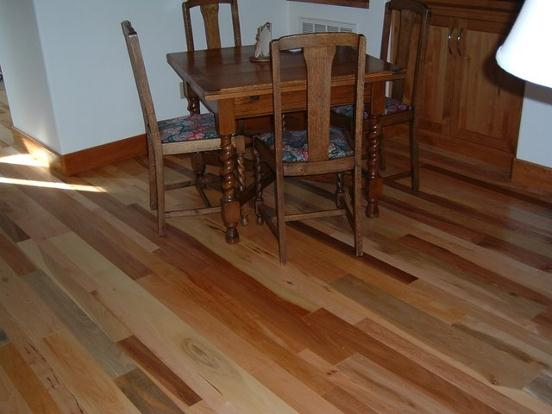 Mixed Hardwood Floor